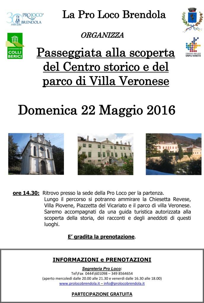 Passeggiata centro storico 22-05-2016
