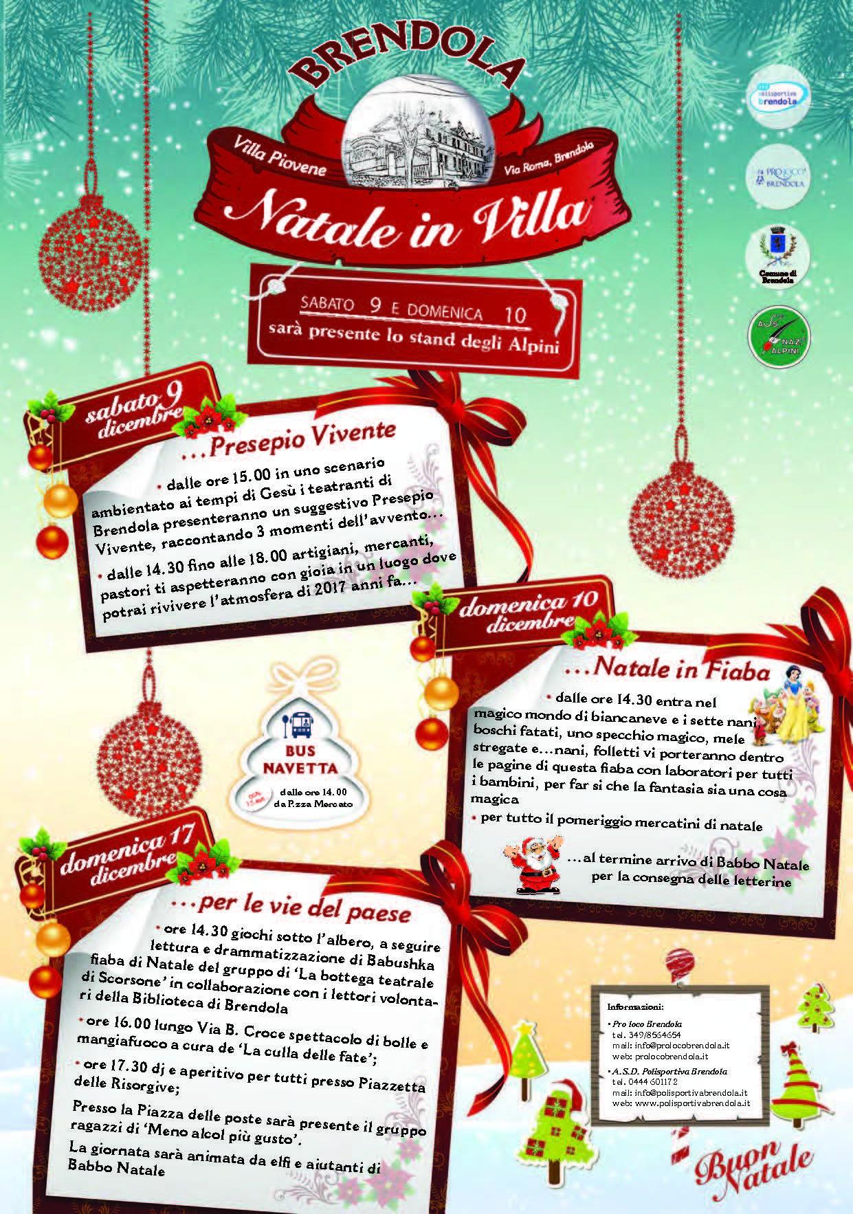 Natale in Villa 2017