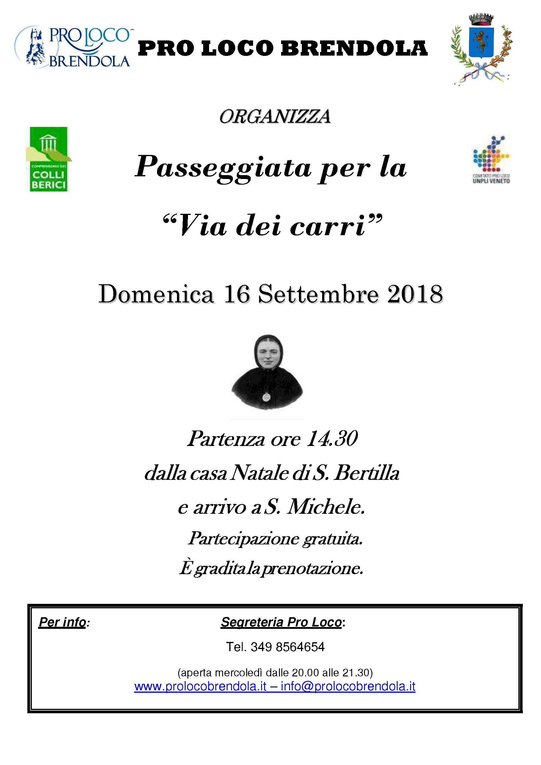 2018.09.16, PASSEGGIATA VIA DEI CARRI1