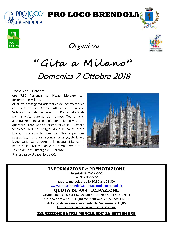 2018.10.07, GITA A MILANO