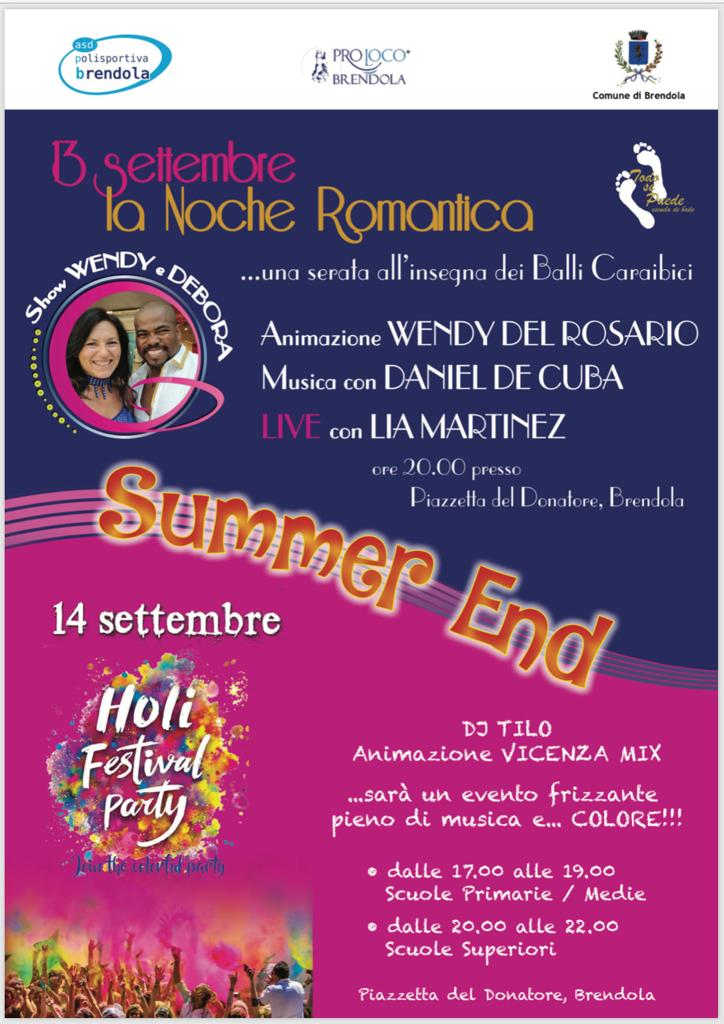 Summer End 2019 - Noche romantica - Holi Festival Party
