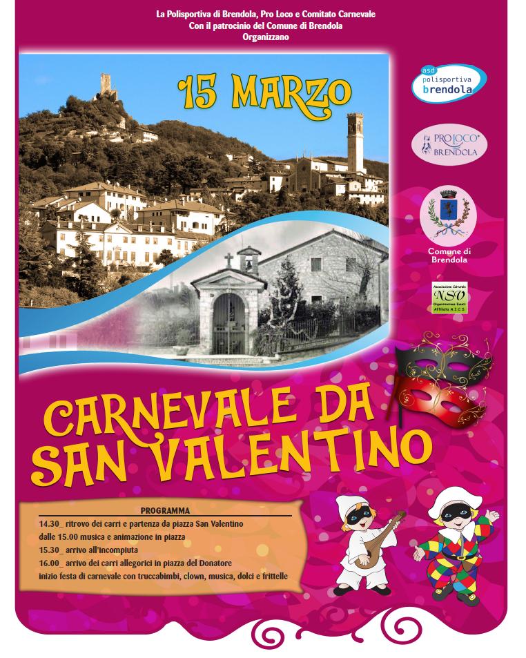 Carnevale a Brendola 15 Marzo 2020